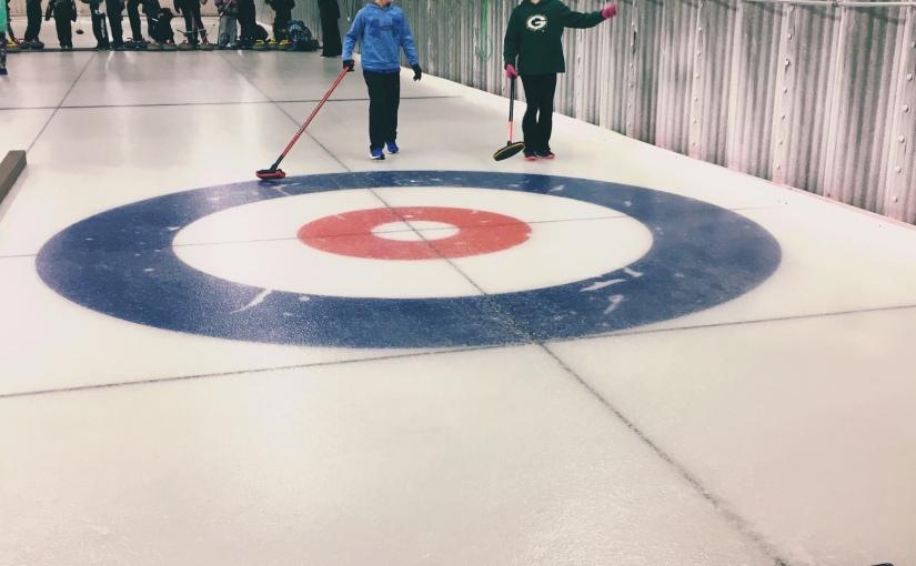 curling…